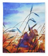 Prairie Sky Fleece Blanket