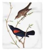 Prairie Starling Fleece Blanket