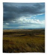 Prairie Storm Fleece Blanket