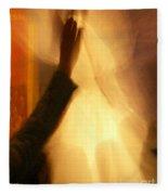 Praising The Lord Fleece Blanket