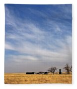 Prarie House Fleece Blanket