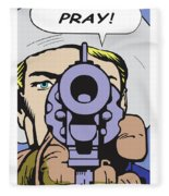 Pray Fleece Blanket