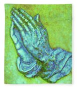 Prayer 3 Fleece Blanket