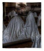 Praying For Peace Fleece Blanket