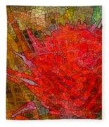 Bloom In Bits Fleece Blanket