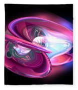 Precious Pearl Abstract Fleece Blanket
