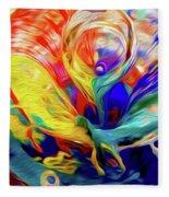 Premorphationism Glass Fleece Blanket