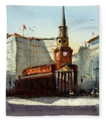 Presbyterian Church, Ny Avenue Washington Dc Fleece Blanket