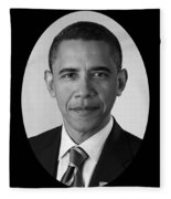 President Barack Obama Fleece Blanket