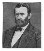 President Grant Fleece Blanket