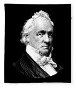 President James Buchanan Graphic Fleece Blanket