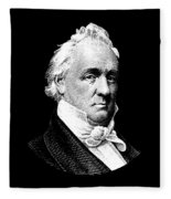 President James Buchanan Graphic Fleece Blanket