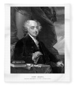 President John Adams - Three Fleece Blanket