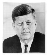 President John F. Kennedy Fleece Blanket