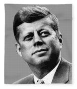 President Kennedy Fleece Blanket