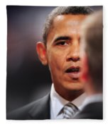 President Obama II Fleece Blanket