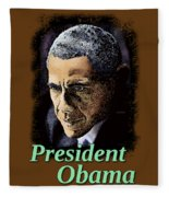 President Obama Fleece Blanket