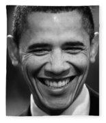 President Obama V Fleece Blanket