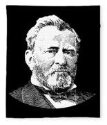 President Ulysses S. Grant Fleece Blanket