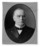 President William Mckinley  Fleece Blanket