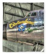 Presidential Aircraft - Lockheed Vc-121e Columbine Fleece Blanket