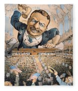 Presidential Campaign, 1904 Fleece Blanket