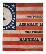 Presidential Campaign, Fleece Blanket