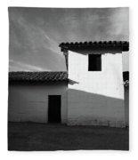 Presidio Shadows- Art By Linda Woods Fleece Blanket
