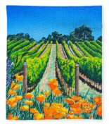 Presidio Vineyard Fleece Blanket