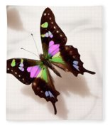 Pretty Butterfly Fleece Blanket
