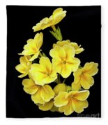 Pretty Primrose Fleece Blanket