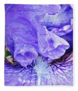 Pretty Purple Fleece Blanket