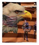 Price Of Freedom Fleece Blanket