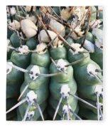 Prickly Cactus Fleece Blanket