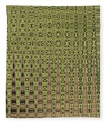Prickly Pear Abstract # 5271wt Fleece Blanket