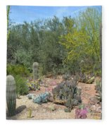 Prickly Pearadise Fleece Blanket
