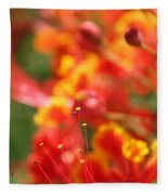 Pride Of Barbados Fleece Blanket