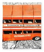 The Pride Of London Fleece Blanket