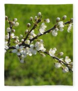 Pride Of The Hedgerow Fleece Blanket
