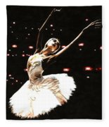 Prima Ballerina Fleece Blanket
