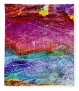 Primal Dawn Fleece Blanket