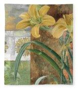 Primavera II Fleece Blanket