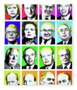 'prime Ministers Question Time X 16' Fleece Blanket