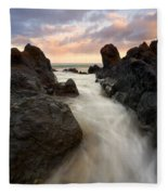 Primordial Tides Fleece Blanket