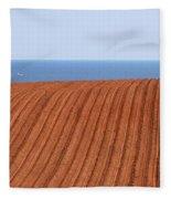 Prince Edward Island Fields 5645 Fleece Blanket