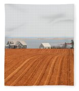 Prince Edward Island Fields 5668 Fleece Blanket