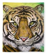 Prince Of The Jungle Fleece Blanket