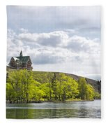 Prince Of Wales Hotel Fleece Blanket