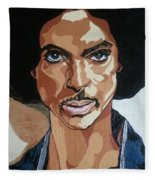 Prince Rogers Nelson Fleece Blanket
