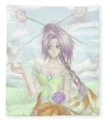 Princess Altiana Colour Fleece Blanket